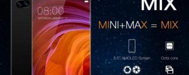 El Doogee MIX se suma a la moda de móviles sin marcos