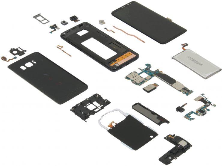 Galaxy S8 desamblado 740x554 0