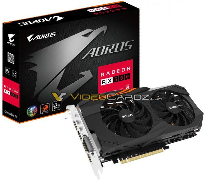 Gigabyte Radeon RX 580 Aorus 8G 675x600 0
