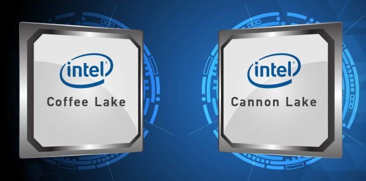 Intel Coffe Lake Cannon Lake 740x366 0