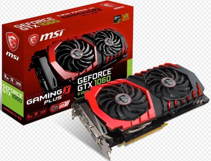 MSI GeForce GTX 1060 Gaming X Plus 9 gbps 740x564 1