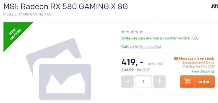 MSI Radeon RX 580 Gaming X 8G 740x351 1