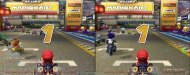 Mario Kart 8 Deluxe en la Nintendo Switch vs Wii U vs 3DS