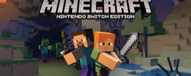 """Minecraft llegará a la Nintendo Switch @ 60 FPS con un mundo """"mediano"""""""