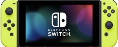 Nintendo anuncia unos Joy-Cons amarillos para la Switch