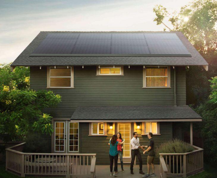 Panel Solar de perfil bajo Tesla y Panasonic 730x600 0