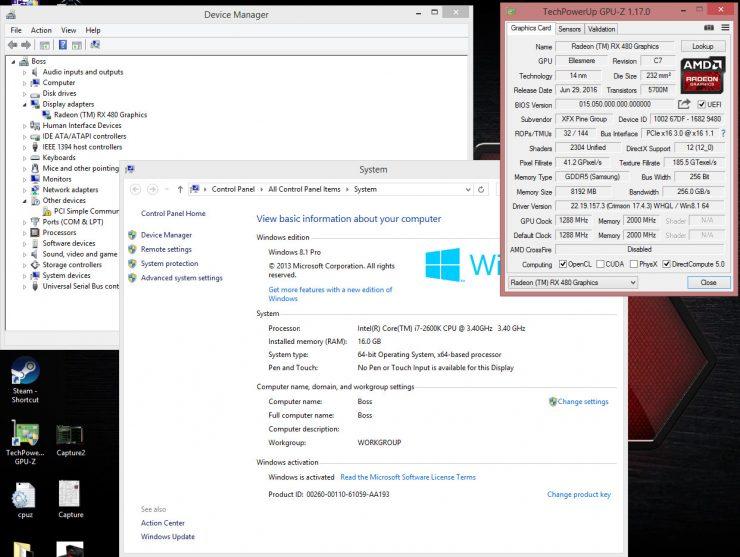Radeon RX 480 mutada a Radeon RX 580 1 740x557 0