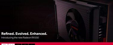 AMD lanza la Radeon RX 550, GPU básica que no compensa frente a la RX 560