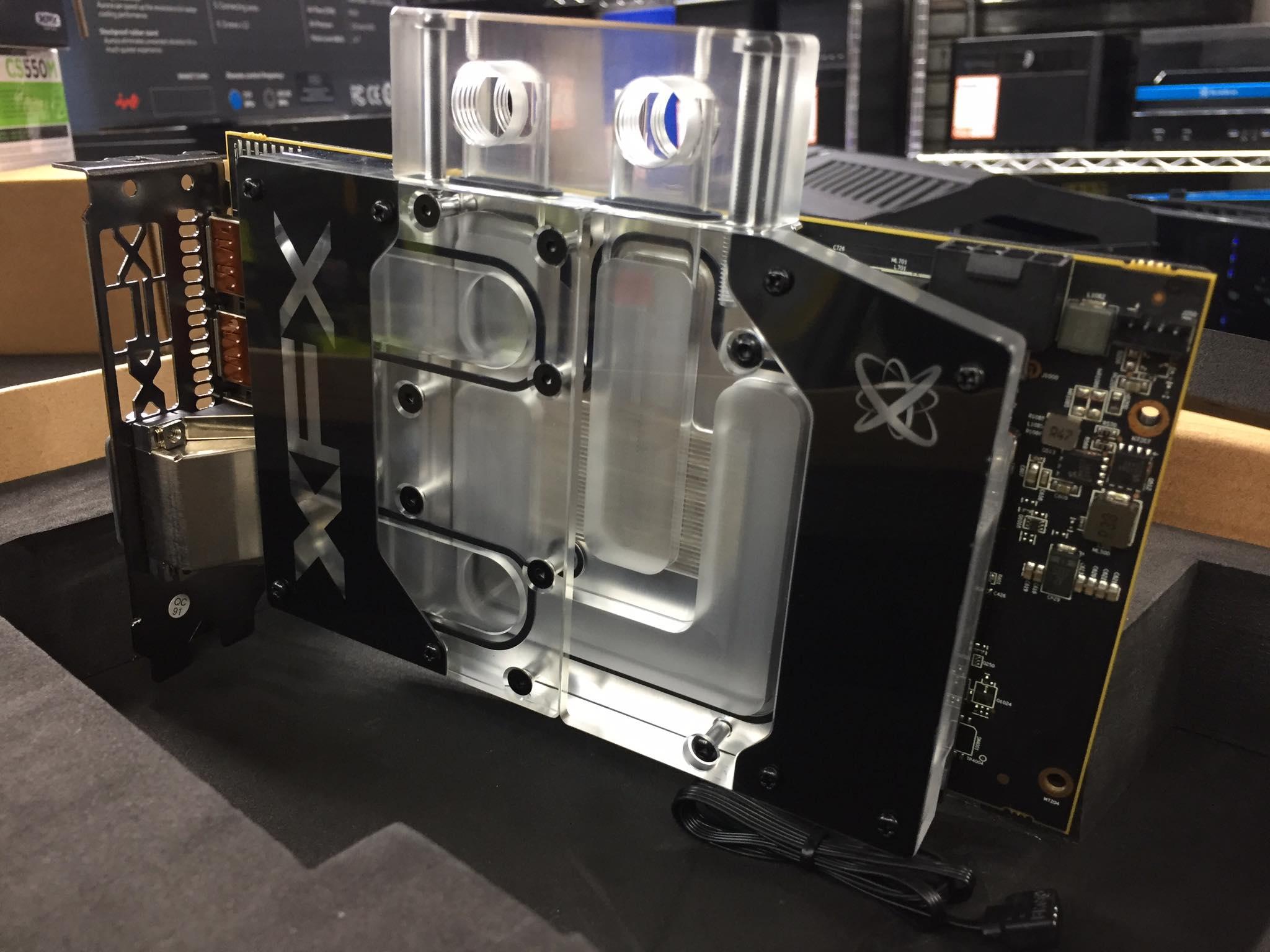 Benchmark De Una Xfx Radeon Rx 580 Refrigerada Por Agua