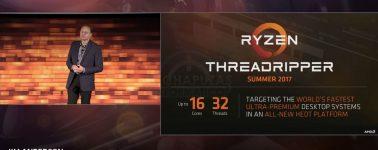 Filtrados los AMD Threadripper 1998X y 1998