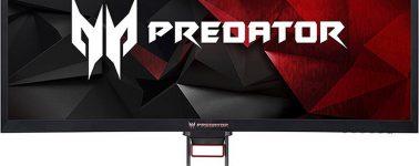 Acer Predator Z35P: Panel AMVA UWQHD curvo de 35″ @ 100/120 Hz con 4ms