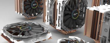 Cryorig R5 & Cu: Nuevo disipador, y renovación de la línea con radiadores de cobre