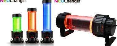 Enermax NEOChanger, bomba de agua y depósito con iluminación LED RGB