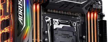 Gigabyte X299 Aorus Gaming 9, Gaming 7 y Gaming 3 filtradas