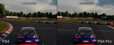 Gran Turismo Sport Beta @ 1080p en PlayStation 4 vs PlayStation 4 Pro
