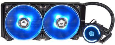ID-Cooling Auraflow 240: Líquida para CPU con sincronización RGB en la bomba y ventiladores