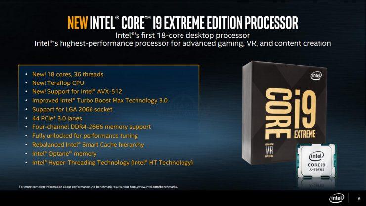 Intel Core i9 Kaby Lake X Intel X299 740x417 0