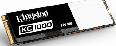 Kingston SSDNow KC1000: SSD M.2 de hasta 960 GB con una velocidad lectura de 2700 Mbps