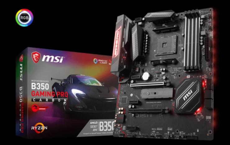 MSI B350 Gaming Pro Carbon Oficial 740x467 1