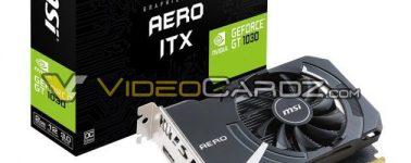 Filtradas 5 GeForce GT 1030 de Gigabyte y MSI, hay para todos los gustos