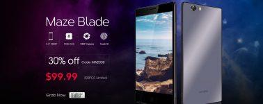 Maze Blade (5.5″ FHD, Octa-Core, 3GB RAM y 3000 mAh) en oferta por 91 euros