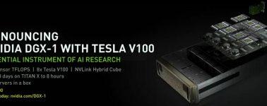 Nvidia DGX-1, DGX Station y HGX-1: Hasta 8x GPUs Tesla V100 en un mismo equipo