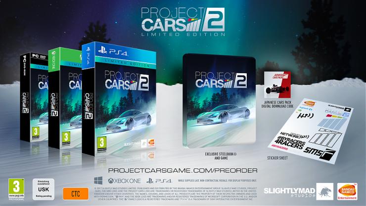Project CARS 2 Edición Limitada 740x417 0