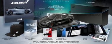Project CARS 2: Pre-compra, ediciones limitadas, Season Pass y tráiler 4K