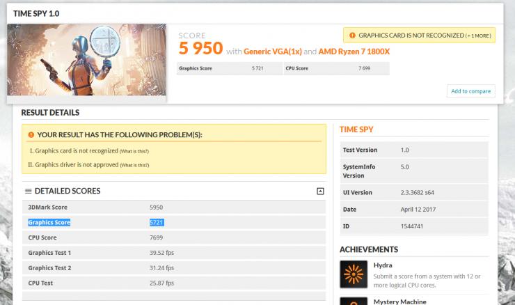 Radeon RX Vega TimeSpy Benchmark 740x438 0