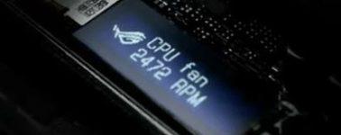 Asus mostrará una placa base con un panel LCD integrado