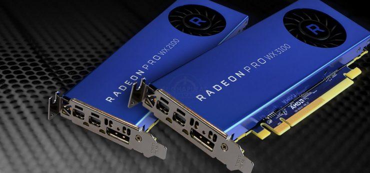 AMD Radeon Pro WX 3100 y Radeon Pro WX 2100 740x347 0