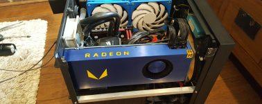 Nuevas pruebas de la AMD Radeon Vega Frontier: Entre la GeForce GTX 1080 y GTX 1080 Ti