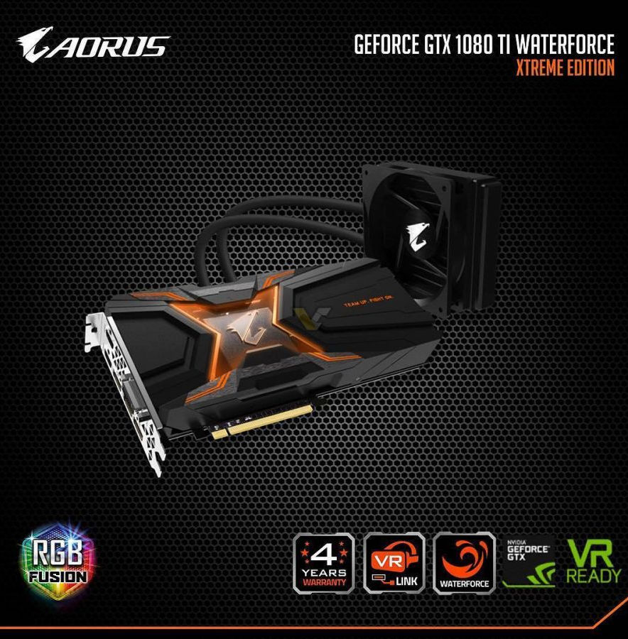 Aorus GeForce GTX 1080 Ti WaterForce Xtreme Edition filtracion 2 1