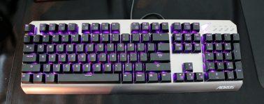 #Computex – Aorus K7 y Aorus M3: Teclado mecánico y ratón gaming