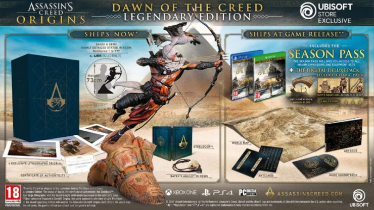 Assassins Creed Dawn of the Creed Edición Legendaria 740x416 0