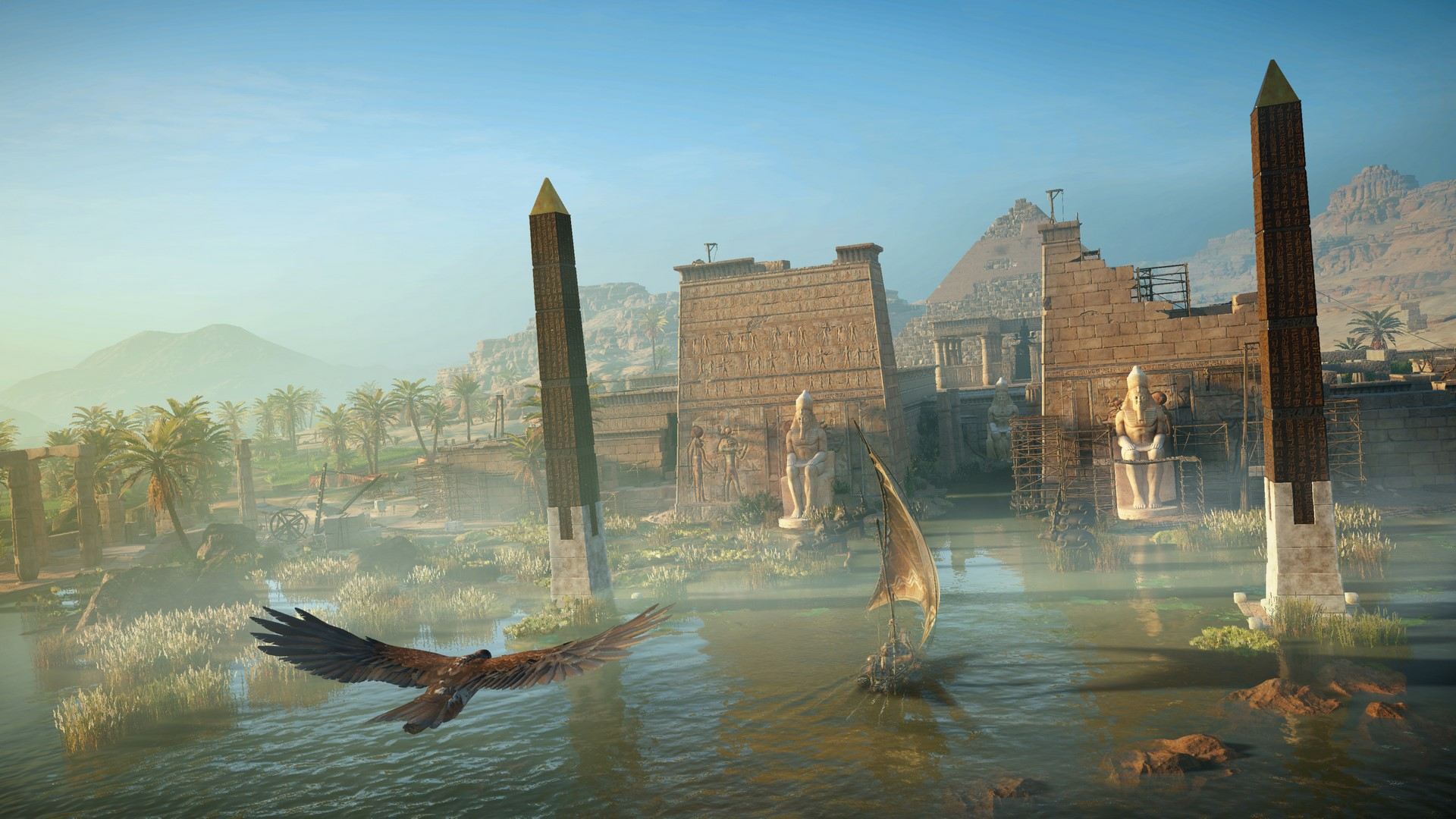 Assassins Creed Origins No Ofrece Una Resolución Nativa 4k