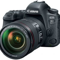 Canon anuncia sus cámaras EOS 6D Mark II y EOS 200D