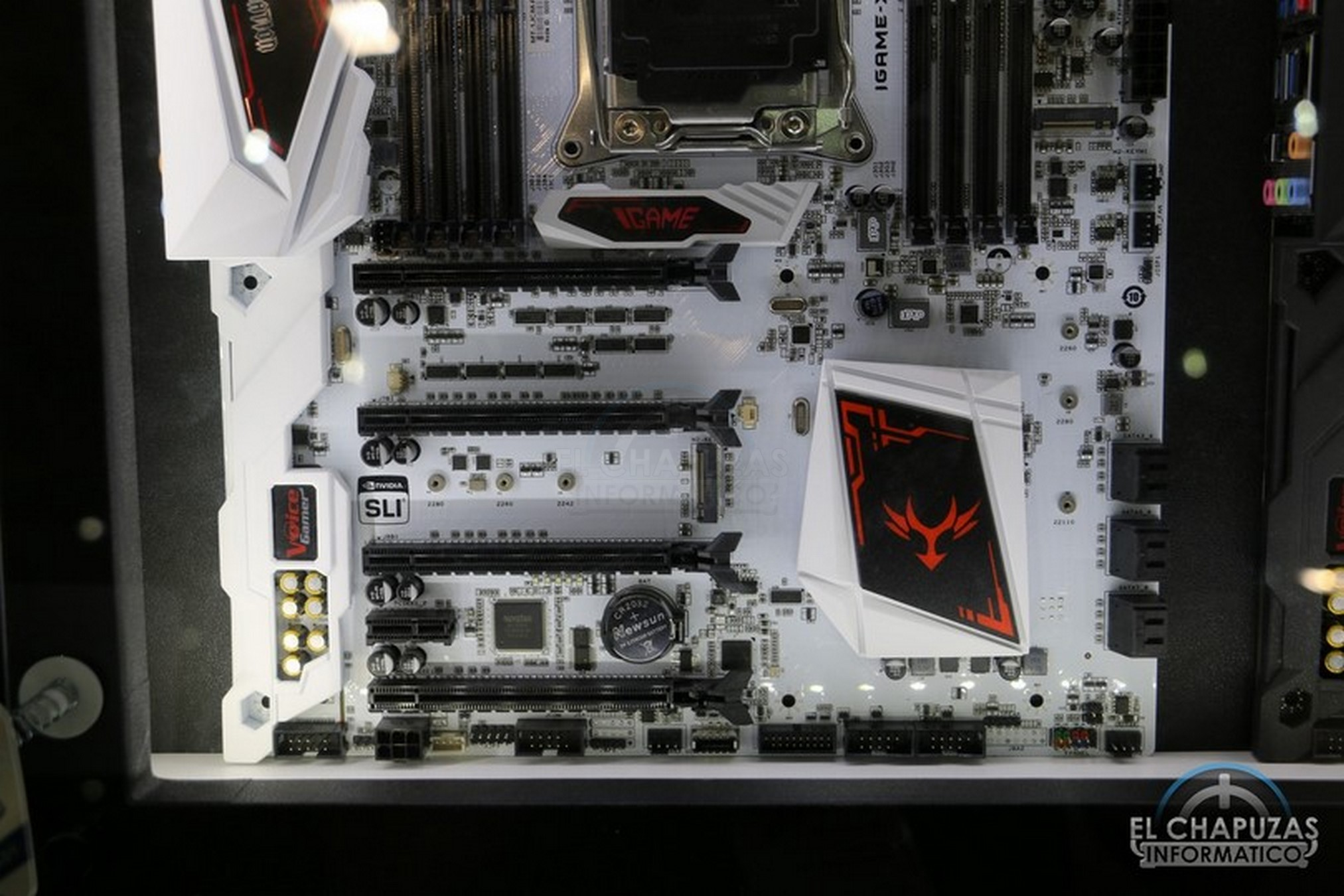 Colorful iGame X299 X white 3 4