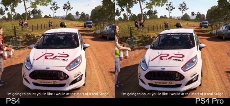 DirT 4 PlayStation 4 vs PlayStation 4 Pro 740x343 1