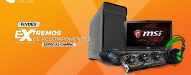 Fin de semana Extremo en PcComponentes, ya en oferta GPUs, portátiles, SSDs y mucho más