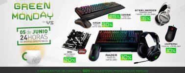 Green Monday en VS Gamers, más de 40 marcas gaming con descuento