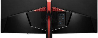 LG 34UC89G-B: Panel IPS curvo de 34″ UWHD @ 144 Hz con Nvidia G-Sync