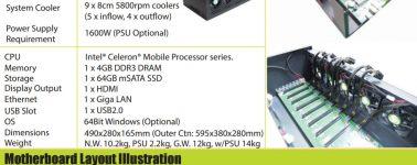 Filtrado el secreto de Nvidia: Sistema con 8x silicios Pascal GP106-100 para minar criptomonedas