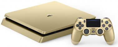 Sony anuncia la PlayStation 4 Slim de color plata y oro, llegarán el 28 de Junio