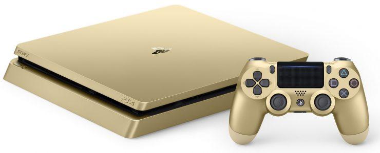 PlayStation 4 Slim gold dorado 740x299 0