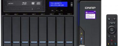 QNAP lanza sus NAS TVS-882BR con reproductor Blu-ray