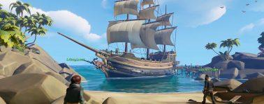 Sea of Thieves ya tiene listo su tráiler de lanzamiento para el 20 de Marzo