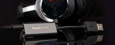 Sound Blaster PLAY! 3, tarjeta de sonido y amplificador DAC por USB