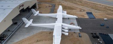Así es el Stratolaunch, el avión más grande del mundo