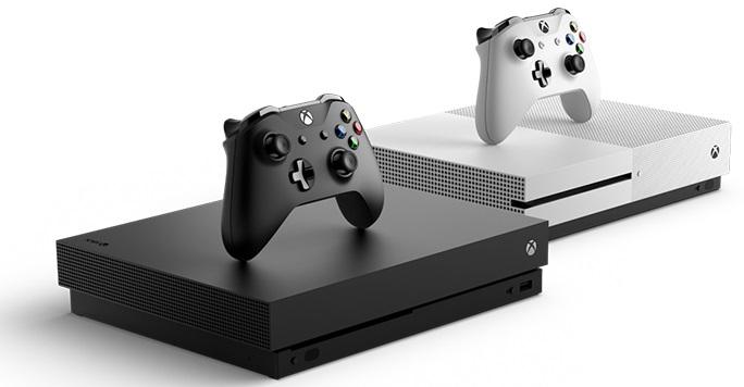 Xbox One X blanca 0